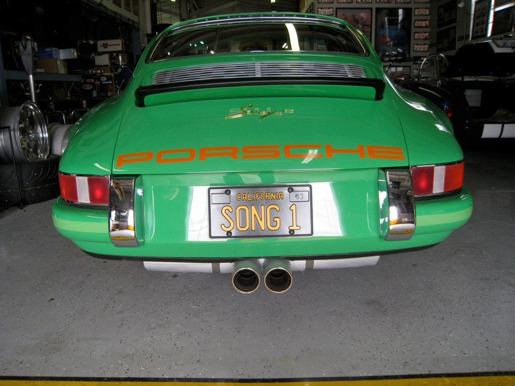 Custom Porsche Exhaust