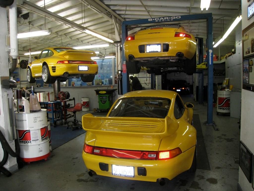 Marin Porsche Routine Maintenance