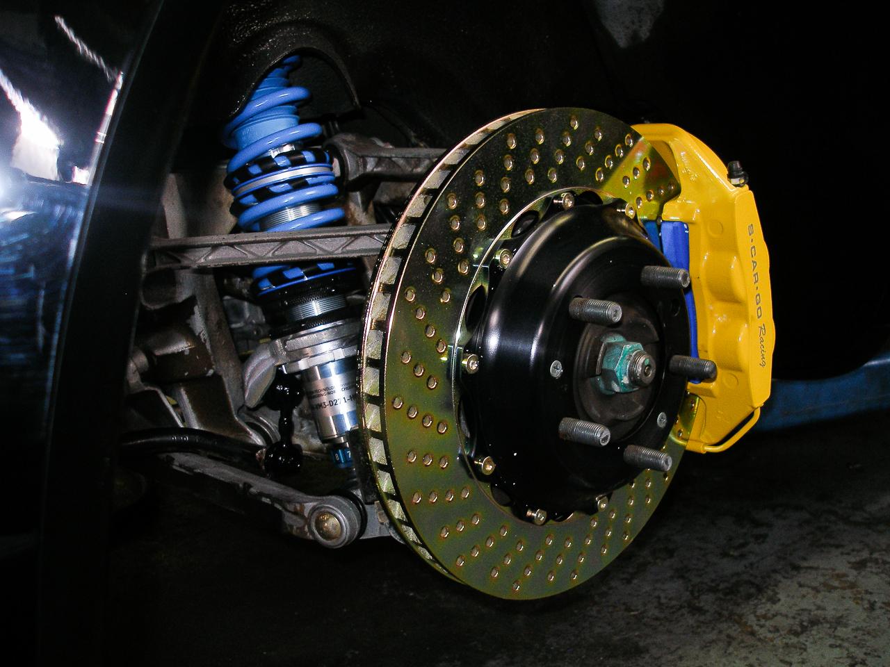 Porsche Brakes S•CAR•GO