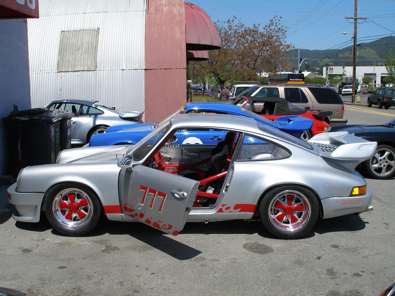 Porsche Race Preparation